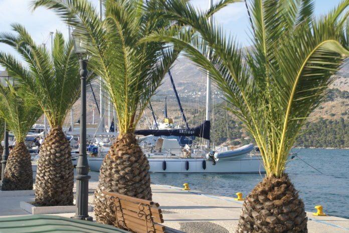 Argostoli Hafenmeile