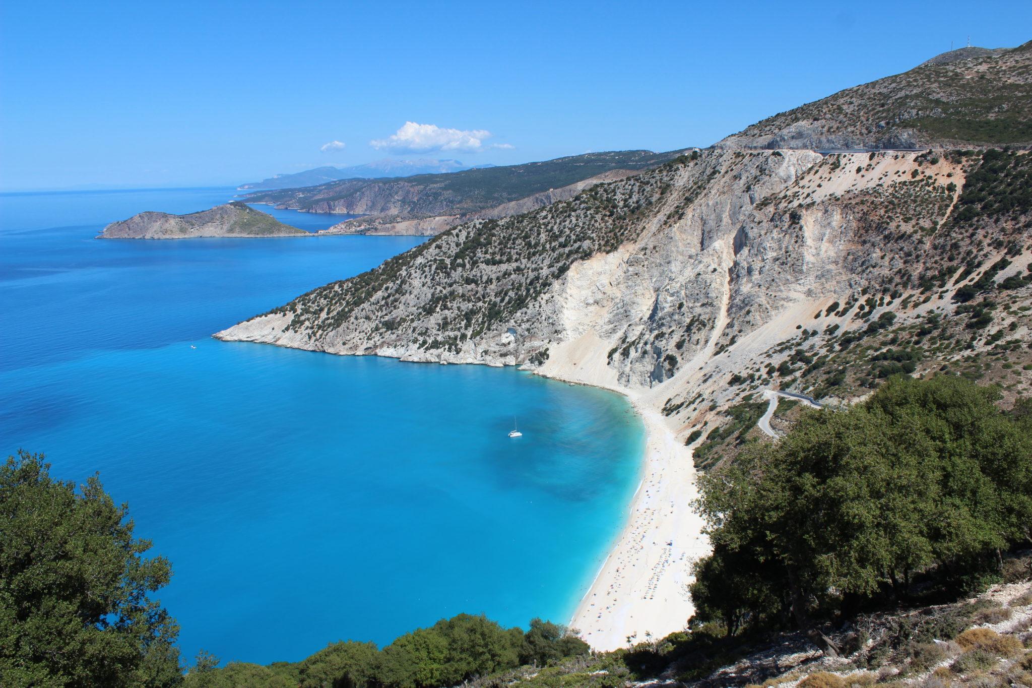 Myrtos Beach Der Schönste Strand Griechenlands Kefalonia