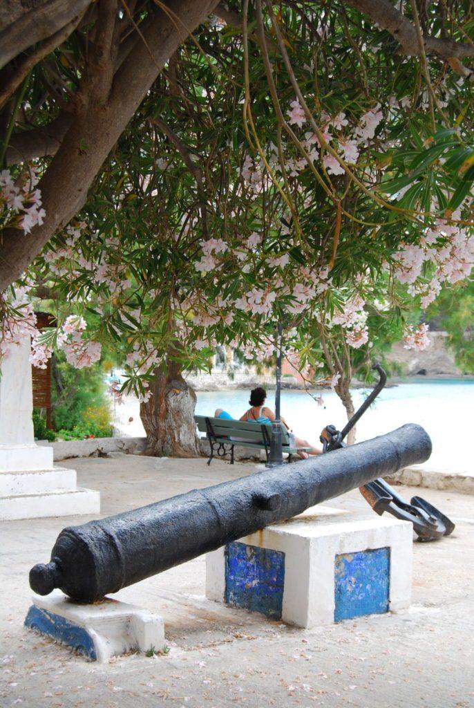 Venezianische Festung auf der Halbinsel Assos